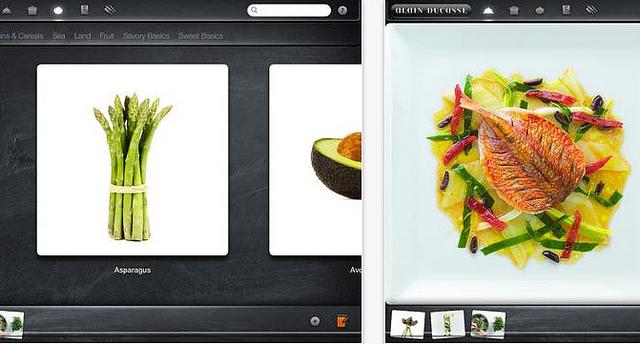 Aplicativo com receitas do alain ducasse cozinha vibrante for Livre cuisine ducasse