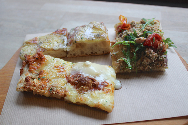 Al Taglio, uma das poucas boas pizzarias de Paris