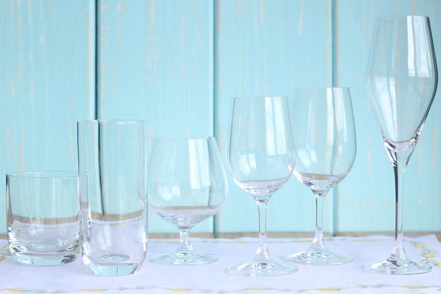 Qual é a taça ideal para cada tipo de vinho