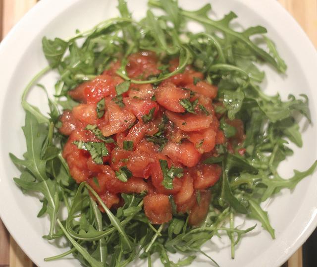 Receita: salada de tomates com baunilha
