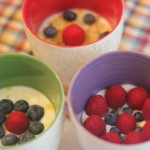 Salada de frutas com iogurte