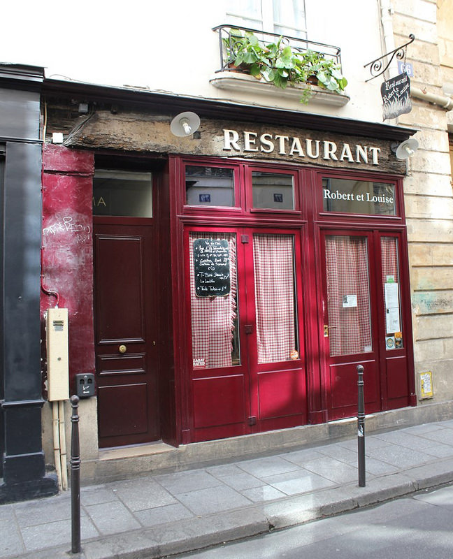 Robert et Louise, restaurante de carne no Marais, Paris