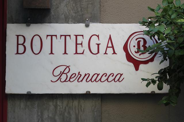 Bottega Bernacca, pequeno bom restô nos Jardins