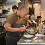 Abri, comida Michelin em lugar copo sujo em Paris