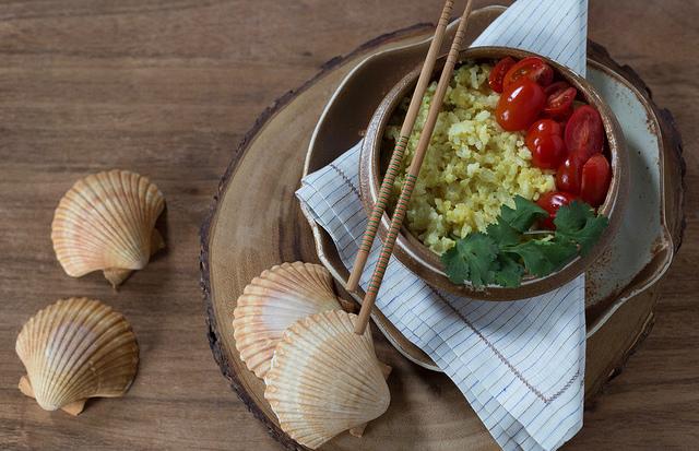 arroz tailandes receita