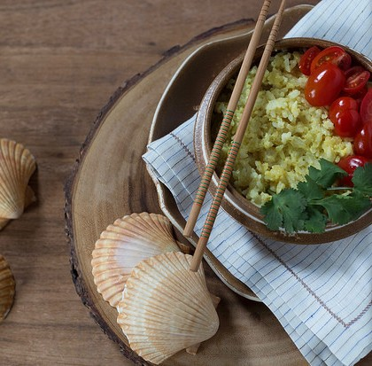Arroz tailandês fácil e delicioso