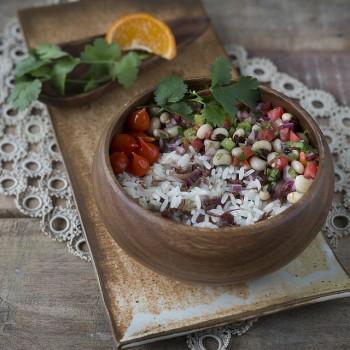 arroz com carne seca receita