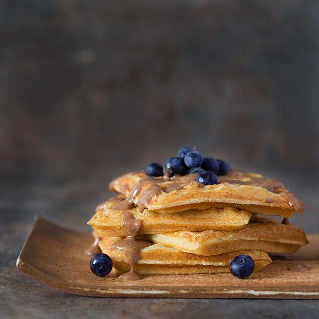 melhor receita de waffle