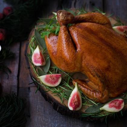 Receita de peru de Natal