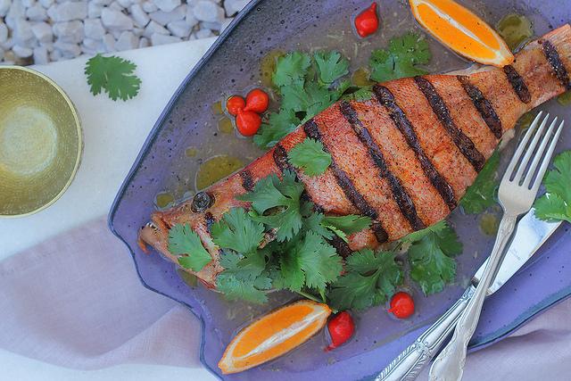 peixe assado receita